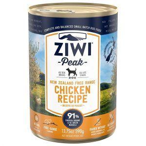 ZiwiPeak Dog dåsemad Chicken, 390g