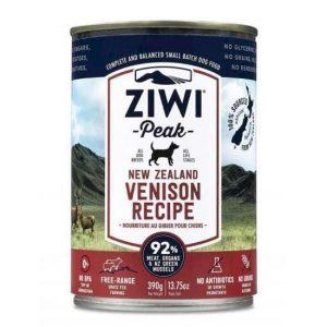 ZiwiPeak Dog dåsemad hjort, 390g