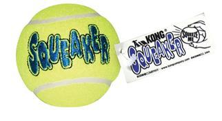 Airkong Squeaker tennis ball Large