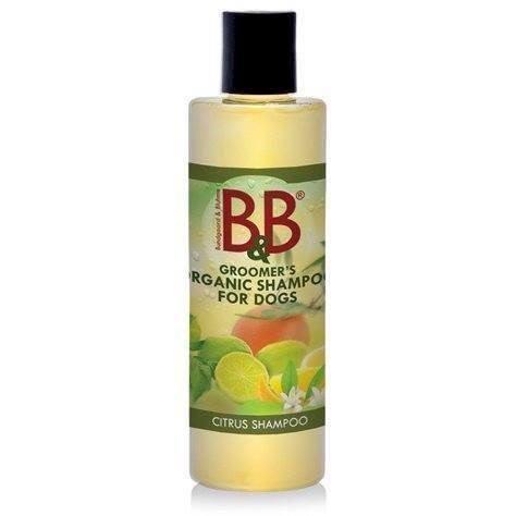 B&B hundeshampoo med citrus, 250 ml