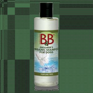 B&B økologisk Parfumefri hundeshampoo