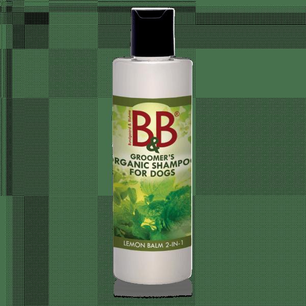 B&B økologisk hundeshampoo 2in1 Citronmelisse
