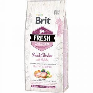 Brit Fresh Chicken Puppy Health Growth, 12 kg