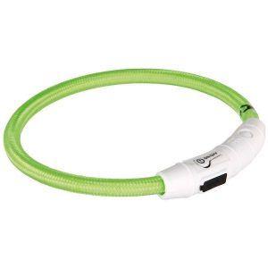 Grøn lyshalsring, Small 35 cm