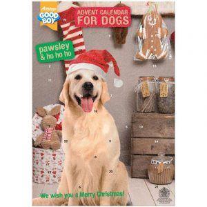 Julekalender DELUXE 2020 med godbidder - til hunde