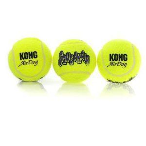 KONG Airdog Squeaker tennisbold, medium
