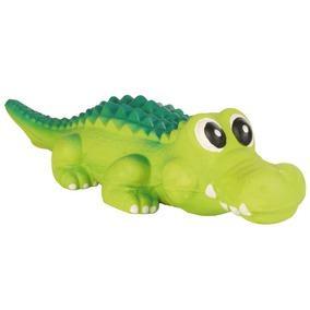 Krokodille i latex 35cm