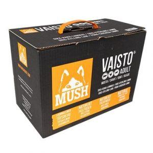 Mush Vaisto® Sort - 10kg - Gris, Kylling og Lam