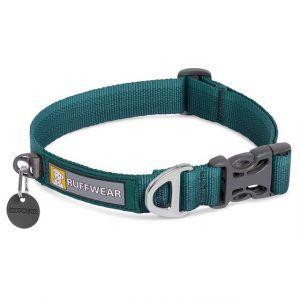 Ruffwear Front Range Halsbånd, Grøn, 28 - 36 cm