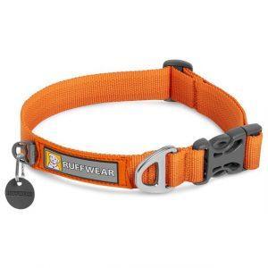 Ruffwear Front Range Halsbånd, Orange, 28 - 36 cm
