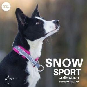 Snow SPORT halsbånd size 4 (45-55cm) Raspberry