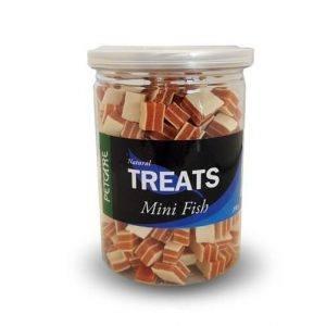 Treateaters Hunde Snack Godbidder Mini Treats Med Fisk - 200g - 80% Kød