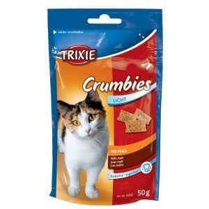 Trixie Katte Snack Godbidder med Malt - 50g - - - - -