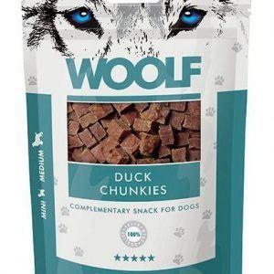 Woolf Grainfree Duck Chunkies 100g