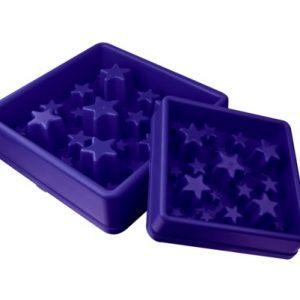 Aktiverings foderskål - Star Large Blå