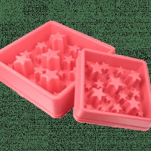 Aktiverings foderskål - Star Large Pink