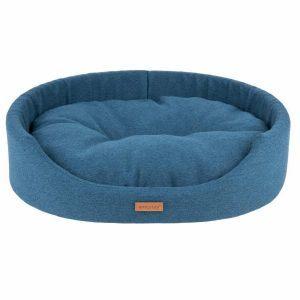 Amiplay Montana Oval Hundeseng - Flere Størrelser - Blå