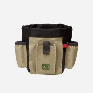 Bæltetaske til hundetræning - åben og luk med bøjle