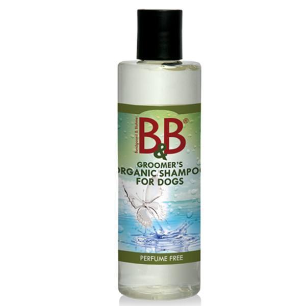 B&B Økologisk Hundeshampoo, Parfumefri-100 ml