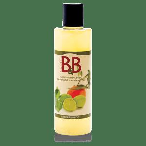 B&B Økologisk hundeshampoo, Citrus-100 ml