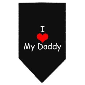Bandana - I LOVE MY DADDY - small-Pink