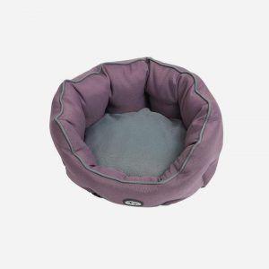 Buster Cocoon senge - flere størrelser og farver, Lilla/Grå / S