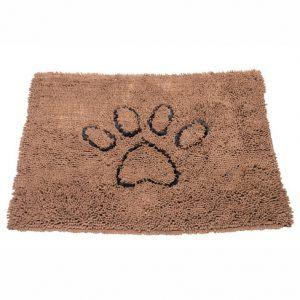 Dog Gone Smart Dirty Dog DoorMat, Brun - Large