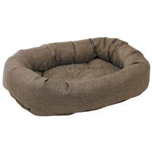Donut slidstærk hundeseng DriftwoodLinen-XL