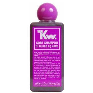 Hundeshampoo: til Sort Pels fra KW, 200ml