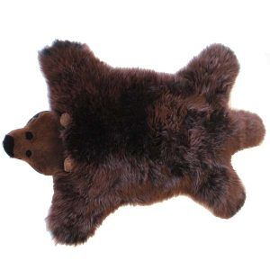 Lammskind bjørn til hunden