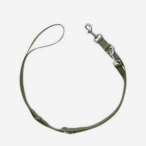 Let justerbar træningsline i Oliven, 2 m (flere str) - London, Small 10 mm