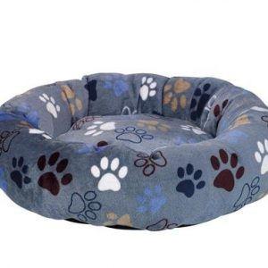 Nobby Lissi Donut Hundeseng - Mørkegrå - Ø70x15cm