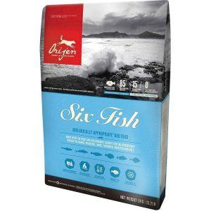 Orijen Six Fish hundefoder, 340 gr