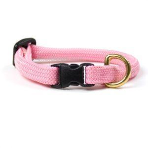 Rundt hundehalsbånd i bjergbestiger line-Pink-50 cm