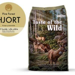 Taste Of The Wild Pine Forest Hundefoder - Med Hjort og Lam- 12,2kg - Kornfrit