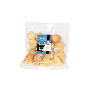 TreatEaters Chicken Knotted Bones 500 g.