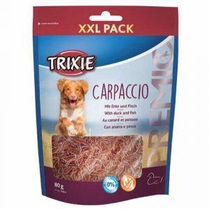Trixie Hunde Snack Godbidder Premio Carpaccio Med And Og Fisk - 80g