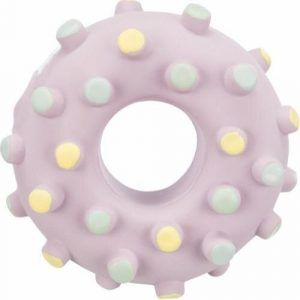 Trixie Junior Hundelegetøjs Latex Mini Donut - Ø8cm