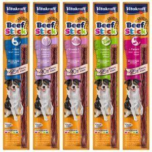 Vitakraft Beef-Stick® SALAMI, lækre pølser til hunde
