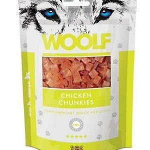 Woolf Grainfree Chicken Chunkies 100g