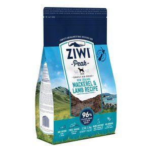 ZiwiPeak Dog Mackarel and Lamb tørret kød, 2.5 kg