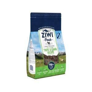 ZiwiPeak Dog Tripe and Lamb tørret kød, 454g
