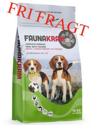 10 kg FAUNAKRAM Senior / Light kornfri