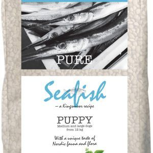 10 kg Kingsmoor Pure Dog Seafish puppy - Kingsmoor Pure Hvalp Havfisk, mellem- og store racer