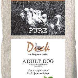 10,5 kg Kingsmoor Pure Dog Duck - Pure And Kingsmoor - mellem og store racer