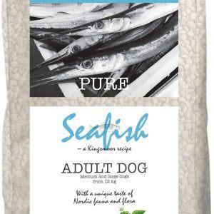 10,5 kg Kingsmoor Pure Dog Seafish - Pure Havfisk Kingsmoor - mellem og store racer