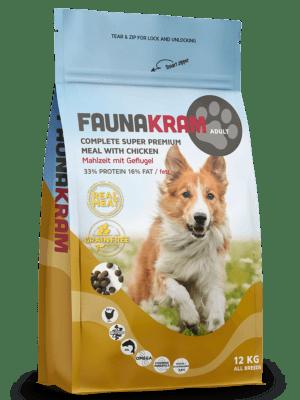 12 kg FAUNAKRAM Komplet Super Premium kornfri