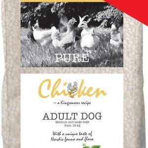 12 kg Kingsmoor Pure Dog Chicken - Pure Kylling Kingsmoor - mellem og store racer