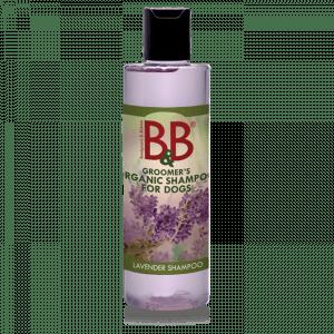 B&B økologisk hundeshampoo med Lavendel