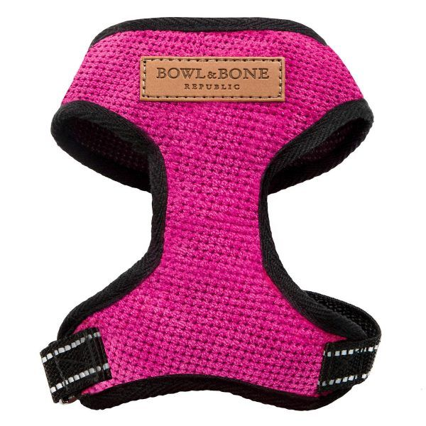 Bowl & Bone hundesele Candy pink